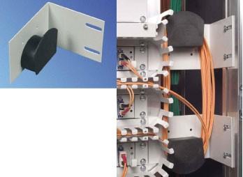 Knürr Überlängenablage, für LWL-Kabel