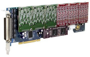 Digium PCI 24-Port a/b-Karte (TDM2400P)