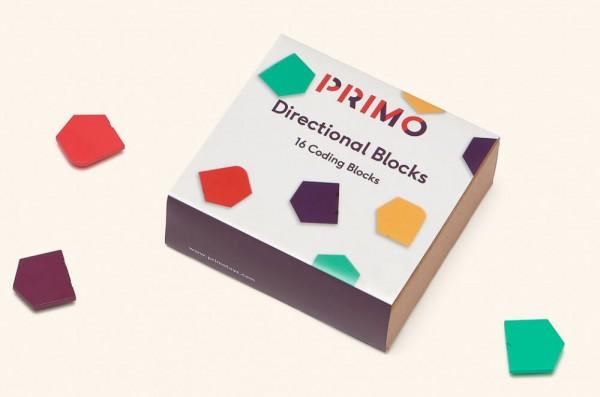 """Cubetto MINT Coding Blöcke """"Richtungen"""" aus Holz ab 3 Jahren (Geeignet für Montessori) - Internationale Version"""