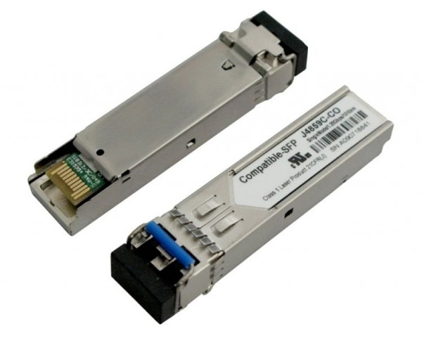 GBIC-Mini, SFP, 1000, LX/LC, kompatible f. HP, HP-Code,