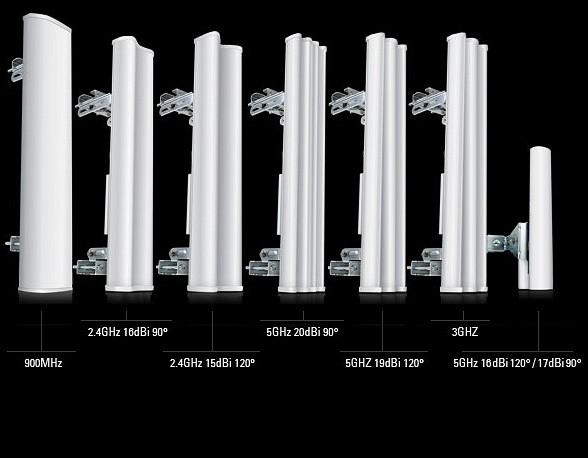 Ubiquiti sector antenna AirMax MIMO 16dBi 5GHz, 120°, rocket kit