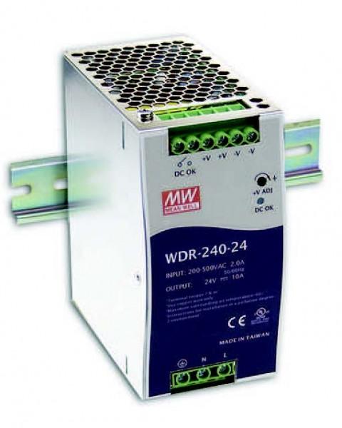 Mean Well Netzteil - 24V 240W Hutschiene
