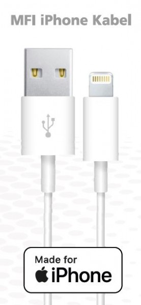 Synergy 21 MFI i Phone Kabel weiß *ALLTRAVEL*
