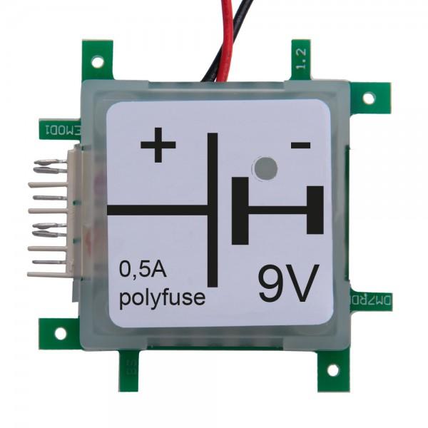 ALLNET Brick'R'knowledge Batterie Adapter mit LED und Masse