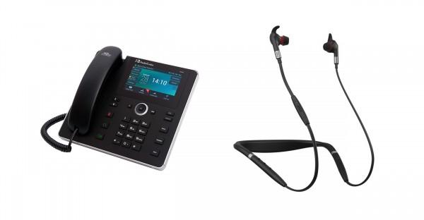 Audiocodes - Jabra Bundle, UC450HDEG & Evolve 75e MS inkl. Link 370