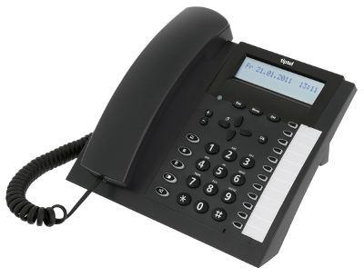 tiptel 2020 Systemtelefon anthrazit