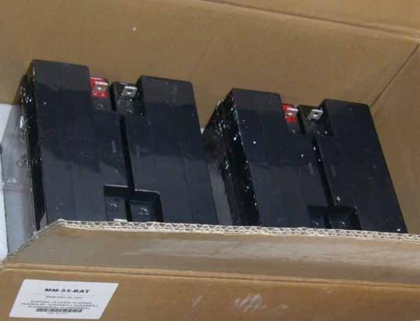 Akku OEM RBC55-MM, nur Akku, für SUA2200I/XLI/3000I/XLI, SMT2200I, SMT3000I,