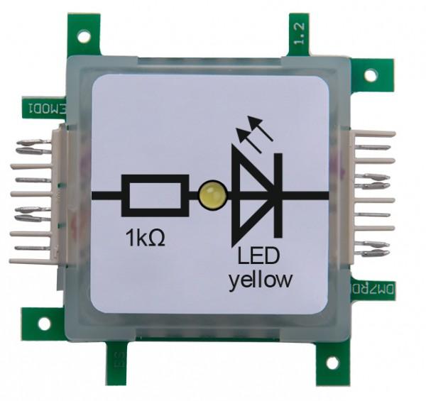 ALLNET Brick'R'knowledge LED gelb