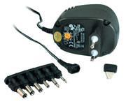 Steckernetzteil universal, 3-12V einstellbar/0.6A,