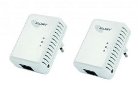 ALLNET ALL168250 / 500Mbit HomePlugAV Mini Adapter 2er Pack