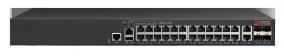 Brocade ICX 7150 Switch 24x 10/100/1000 PoE+ ports, 2x 1G RJ45 uplink-ports, 4x 10G SFP+ uplink-ports, 370W PoE