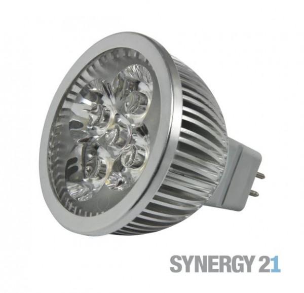 Synergy 21 LED Retrofit GX5,3 4x1W cw V2 dimmbar