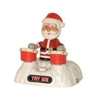 ALLNET Gift USB trommelnder Weihnachtsmann