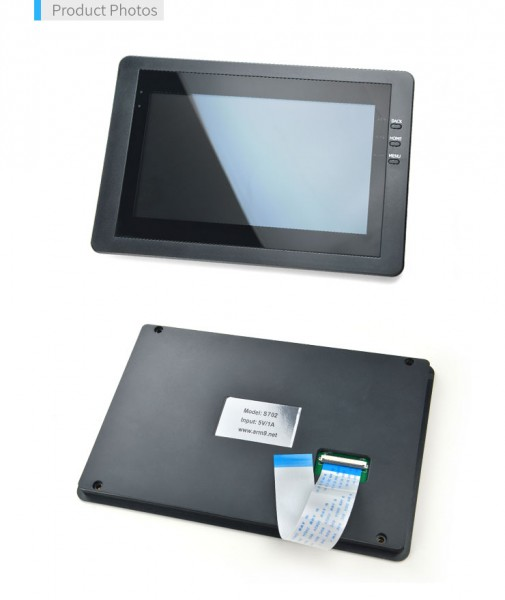 FriendlyELEC 7 inch capacitive touch LCD(S702)