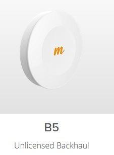 Mimosa B5 802.11ac 5GHz Punkt zu Punkt Richtfunk Einheit 1 Gbps 4x4:4 MIMO