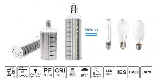 Synergy 21 LED HID Corn Retrofit E27 180° 20W nw