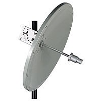 ALLNET Antenne 5,8 GHz 24dBi Parabol outdoor N-Type L-com