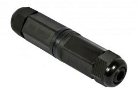 TP-TP Kupplung, RJ45 CAT6, IP67 Outdoor, bis 3-8mm - bestehende RJ45 Stecker verwenden