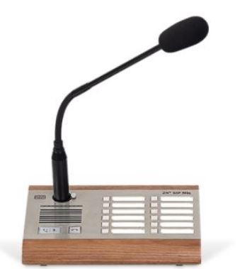 2N Audio SIP Mic Tischmikrofon