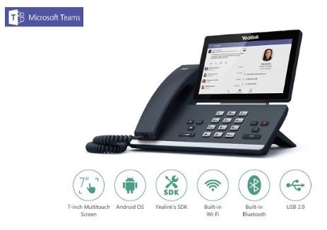 Yealink MSFT - Teams Edition T5 Series T58A Android based wi
