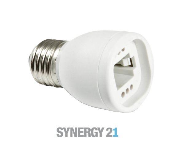 Synergy 21 LED Adapter für LED-Leuchtmittel E27->G23/G24
