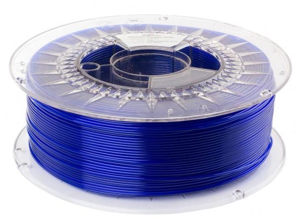Spectrum 3D Filament PETG 1.75mm TRANSPARENT blau 1kg