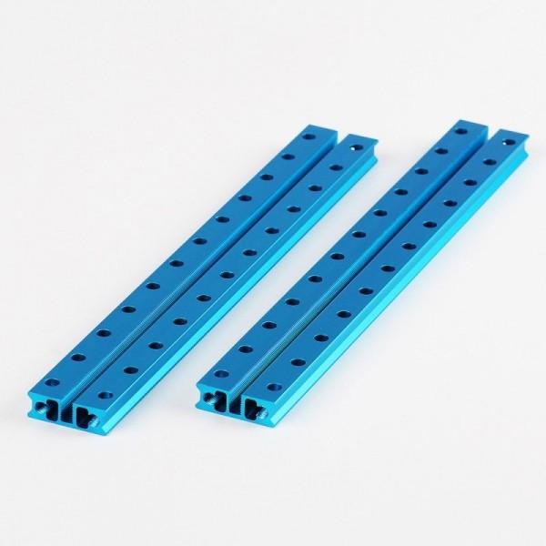"""Makeblock """"Slide Beam 0824-192 Blue (Pair)"""" / 2x Gleitschiene 0824-192 für MINT Roboter"""