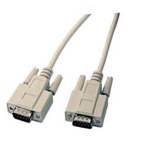 Kabel seriell DB9pol=>DB9pol St/St 5m