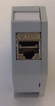 Keystone, Modulträger, DIN Rail, incl. Keystone, Hutschienenadapter,