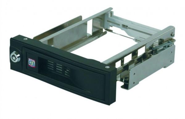 ICY Box Wechselrah.SATA 1x/SATA,Black,IB-168SK-B,Kein Träger