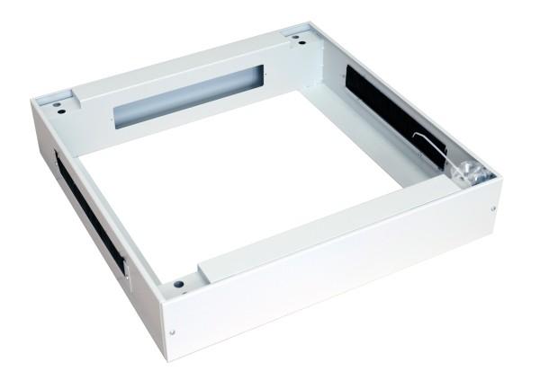 "ALLNET 19""Schrank, zbh. Sockel, B600/T 600mm, Lichtgrau, für SNB-Serie"