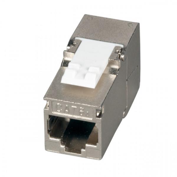 Keystone, Modul, TP-Buchse, CAT6A, 500MHz, für Dosen- und Patchpanel-Modulträger, Slim-Line