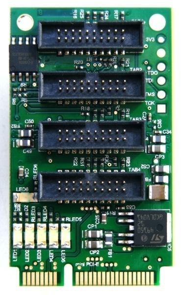 Digital Devices Octopus mini PCIe Bridge for 4x DuoFlex or CI Module