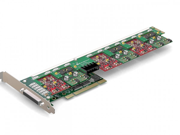Sangoma A400 10xFXS analog Karte mit Echo Unterdrückung PCI