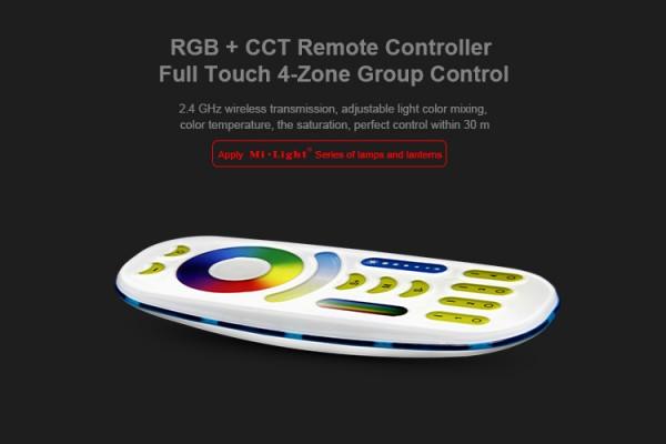 Synergy 21 LED Fernbedienung RGB-WW (RGB-CCT) 4 Zonen *Milight/Miboxer*