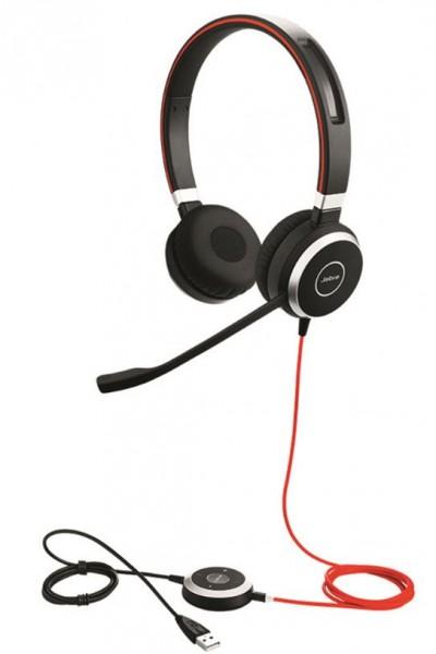 Jabra Evolve 40 Headset Duo 3,5mm / USB-C MS