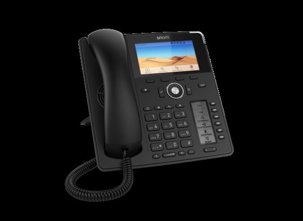 SNOM D785 VOIP Telefon Prof. (SIP), Gigabit, schwarz