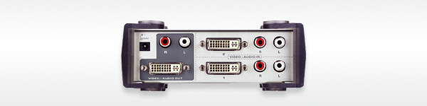 Aten Video Switch,DVI/Audio, 2xInput,1xOutput