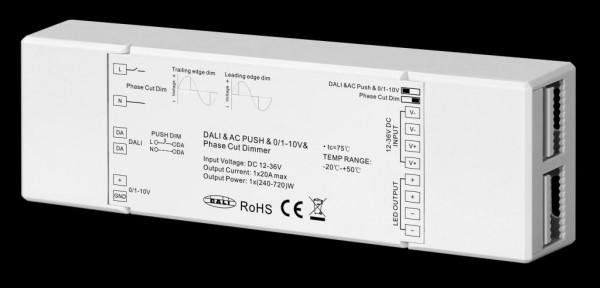 Synergy 21 LED Controller EOS 07 DALI 0-10V und TRIAC Dimmer