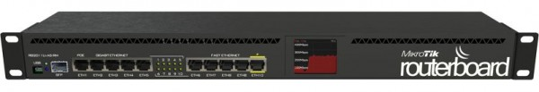 MikroTik RouterBOARD RB2011UiAS-RM, 5x Gigabit, 5x 10/100, USB, Rackmount