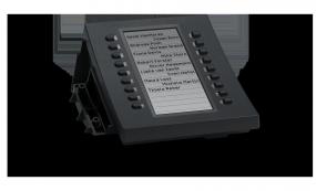 SNOM D3 Tastaturerweiterungsmodul Black
