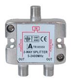 Kabel SAT, Verteiler, F(Buchse)->2xF(Buchse), 5-2400MH
