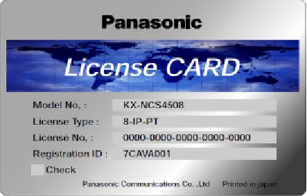 Panasonic KX-NCS 3708WJ 8 Standard SIP-Telefone