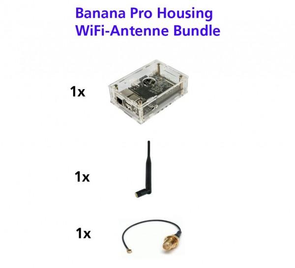 banana pro Board zbh. WLAN Antennen-Set