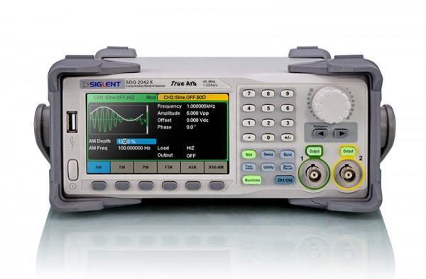 Siglent SDG2122X / 2-Kanal, 120MHz Signalgenerator, 1,2GSa/s