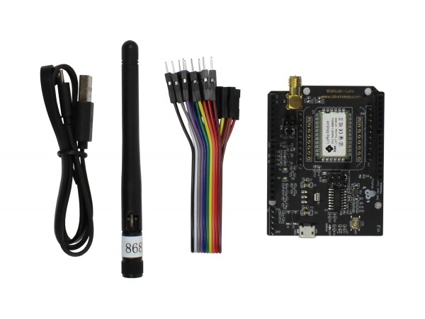 RAK Wireless WisNode Lora/LoRaWAN Module, Support AS923, 868/915MHz, LoRa/TTN, Open source LoRa, RAK811 development board, LoRa Arduino shield