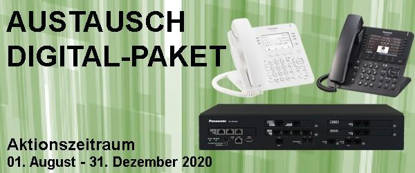 Panasonic Austausch Digital-Paket (weiß)