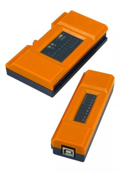 TP(RJ45)/USB-Kabeltester, Sender/Empfänger, Synergy 21,