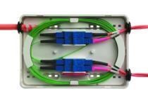 Telegärtner LWL, Wandverteiler Mini-Speissverteiler, für 12 Fasern, Telekom,