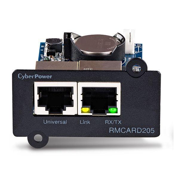 CyberPower USV, zbh. SNMP Netzwerkkarte für OR/OL/OLS/PR Serie, mit Anschluss für Environment Sensor